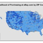 eBay Customers By Zip Code [MAP]