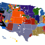 NFL Fans By County [MAP]