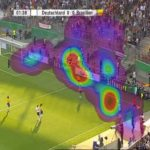 Eyetracking: Where Soccer Fans Focus Their Attention During A Game [HEATMAP]