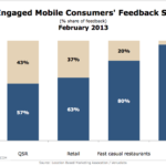 Local Mobile Customer Feedback, February 2013 [CHART]
