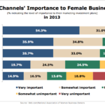 Marketing Channels Important To Women Entrepreneurs, 2013 [CHART]