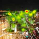 Eyetracking: Cityscape Photograph [HEATMAP]