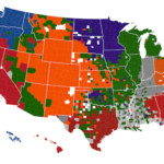 NFL Fan Allegiance During The Playoffs [MAP]