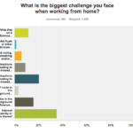 Telecommuters' Biggest Challenges [CHART]