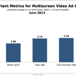 Most Important Multi-Screen Video Ad Metrics, June 2013 [CHART]