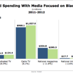 Change In Ad Spending With African American Media, 2011-2012 [CHART]