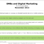 SMBs & Digital Marketing, November 2013 [TABLE]