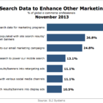 Use Of Site Search Data To Inform Marketing Programs, November 2013 [CHART]