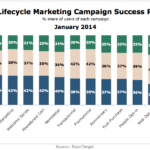 Email Lifecycle Marketing Campaigns Success Ratings, January 2014 [CHART]