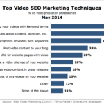 Top Video SEO Techniques, May 2014 [CHART]