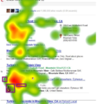 How People View Search Results With Social Annotations [HEATMAP]