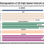 Chart - Demographics Of American Broadband Users