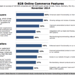 B2B eCommerce Website Features, November 2014 [CHART]
