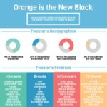Infographic - Orange Is The New Black Social Media Fans