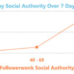 Chart - Social Authority Affects Google