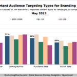 Chart - Top Audience Targeting Types For Branding