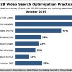 B2B Video SEO Practices, October 2015 [CHART]