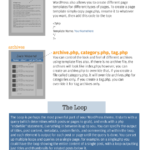 WordPress Theme Elements [INFOGRAPHIC]