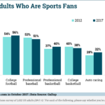 Percentage Of American Sports Fans By Sport [CHART]