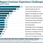 Top Customer Experience Challenges [CHART]