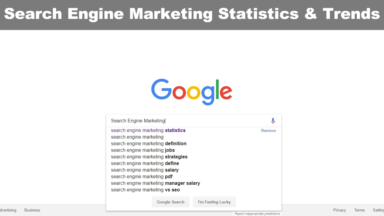Search Engine Marketing Statistics & Trends