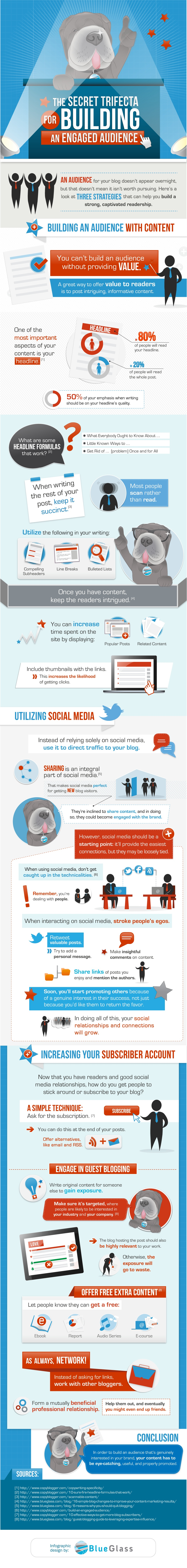Infographic - Building An Engaged Audience