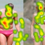 Eye-Tracking - Men and Women - Heatmap