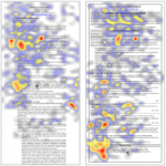 Heatmap - Resume Eyetracking Before & After