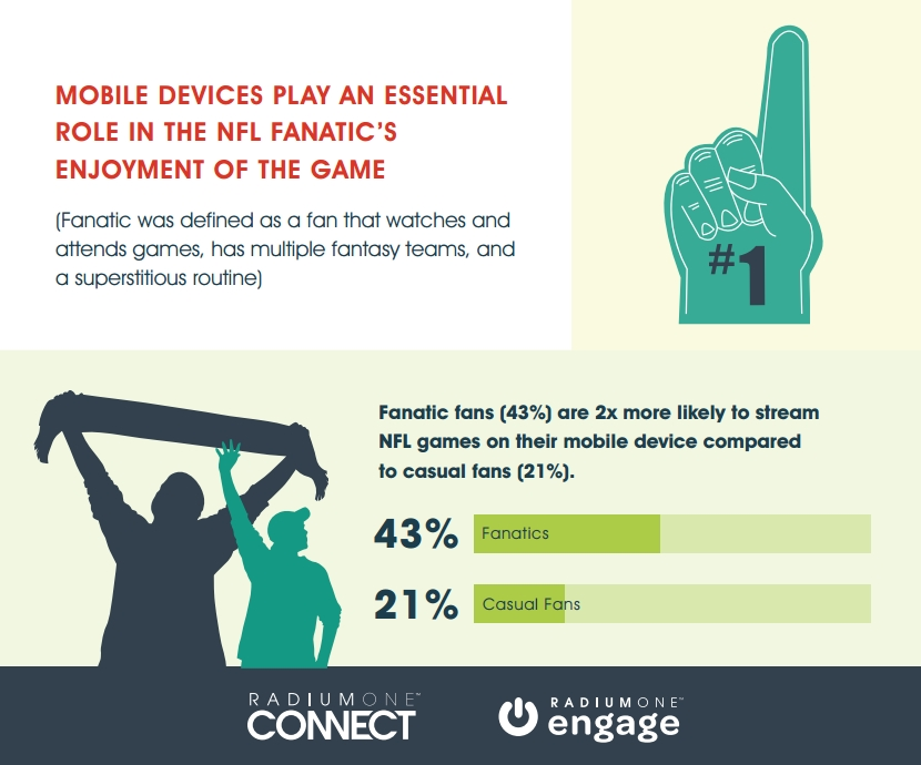 NFL Fanatics vs Casual Fans [INFOGRAPHIC]