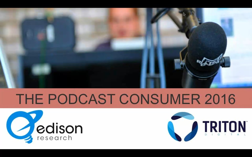 2016 Podcast Listener Report [VIDEO] - e-Strategy Trends