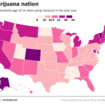 Map: US Marijuana Use