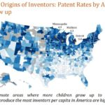 Map: Where Inventors Grow Up