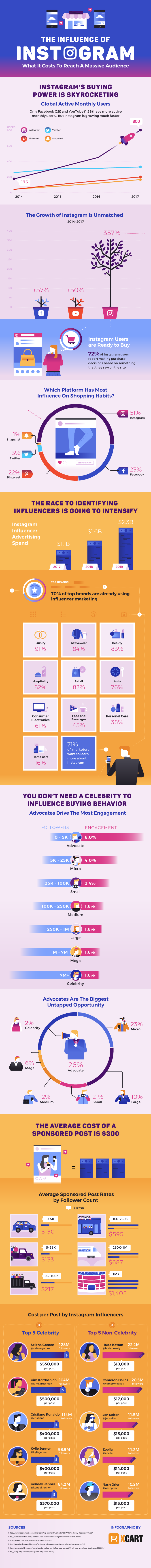 Infographic: Instagram Influence