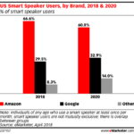 Chart: Smart Speaker Users By Brand, 2018-2020