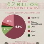Infographic: Consumer Spending On Valentine's Day Flowers