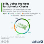 Infographic: Top Uses Of Government Stimulus Checks