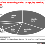 Chart: Video Streaming Market Share by Service