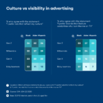 Infographic: Culture vs Visability In Advertising